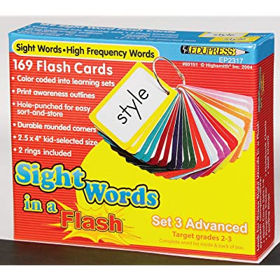 hand2mind 65501 Sight Words in a Flash Advanced Flash Card Set: Industrial & Scientific