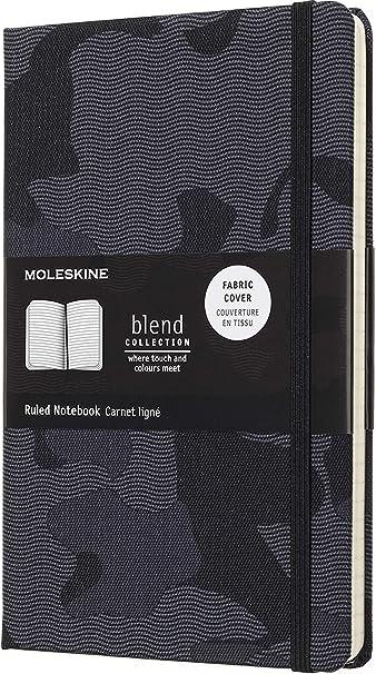 a Righe Moleskine Blend 18 Taccuino Large in Edizione Limitata Arancione Mimetico