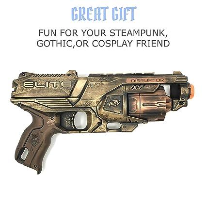 Amazon Com Steampunk Toy Gun Theater Prop Handpainted Cosplay