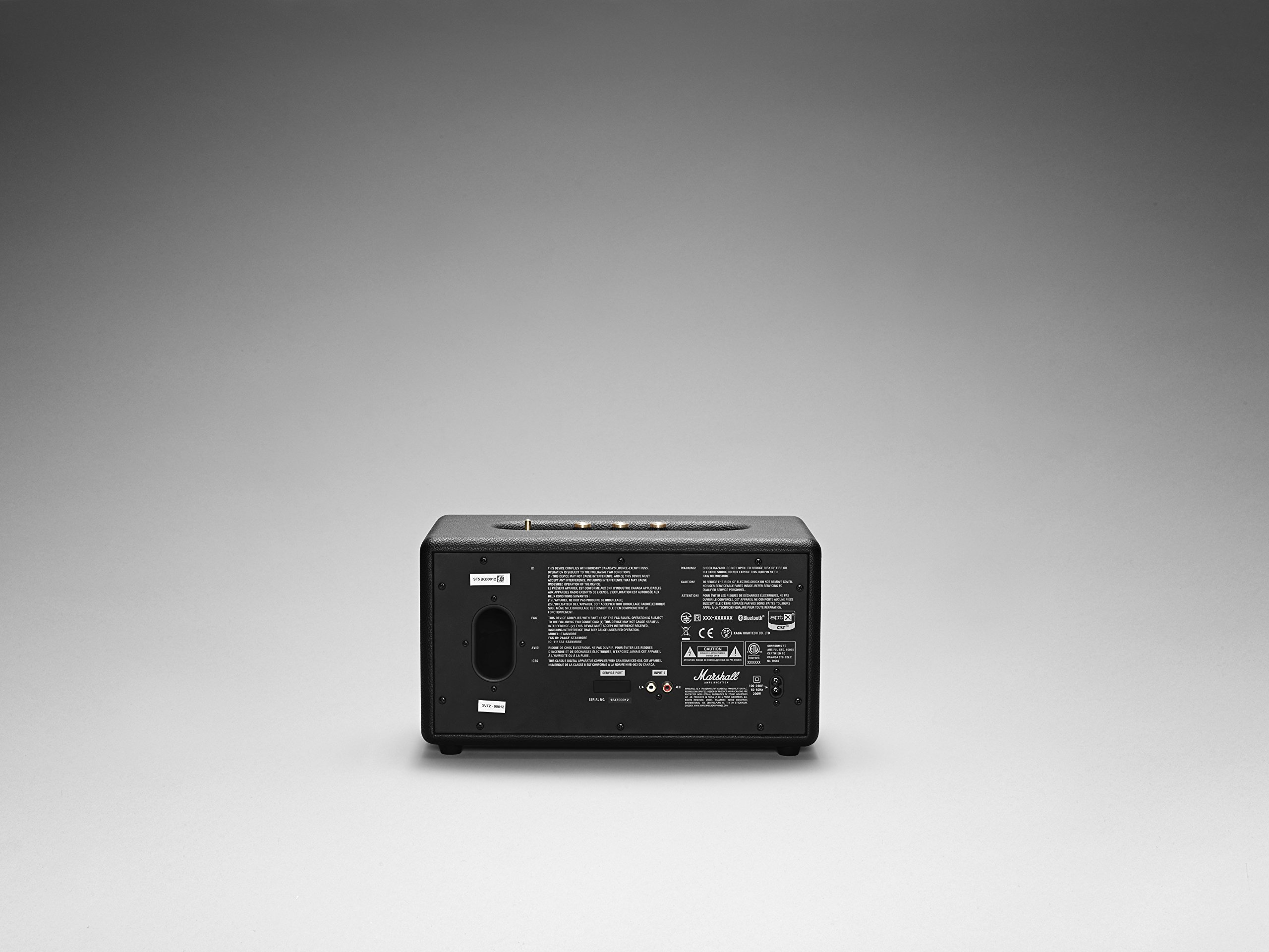 Marshall Stanmore Bluetooth Speaker, Black (04091627) by Marshall (Image #2)