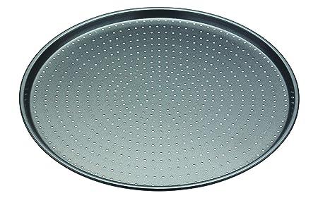 masterclass Bandeja para Pizza, Aluminio, Gris, 32x32x3 cm: Amazon ...