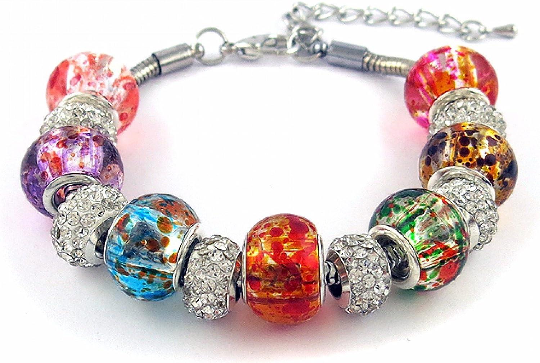 pandora charm bracelet white gold