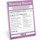 Knock Knock Honorary Unicorn Nifty Note, 4 x 5.25-inches