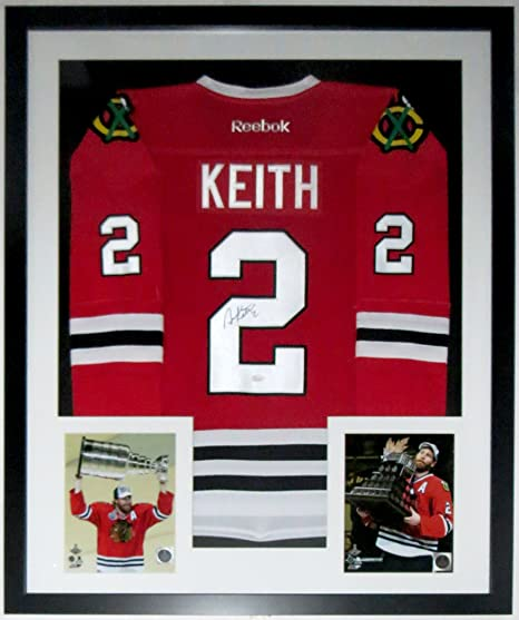 Duncan Keith Signed L Chicago Blackhawks 2015 Reebok Stanley Cup Jersey -  Authenticated by JSA COA. Roll over image to zoom in e77135598