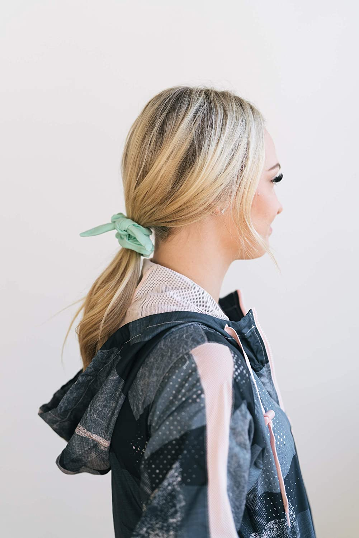 Amazon Maven Thread 4 Count Hair Scrunchies Elastic Hair Bands