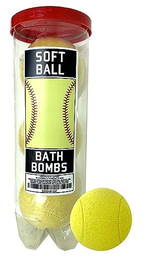 Amazon.com: Bombas de baño de softball – 3 unidades ...