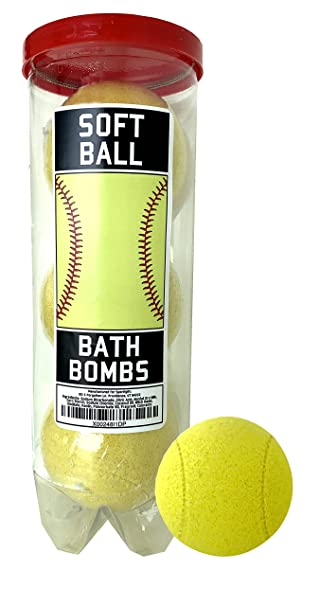 Amazon.com: Bombas de baño de softball – 3 unidades ...