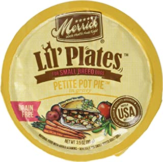 product image for Merrick Lil's Plates 3.5-Oz Grain Free Wet Food for Small Breed Dogs12 Cans - Petite Pot Pie