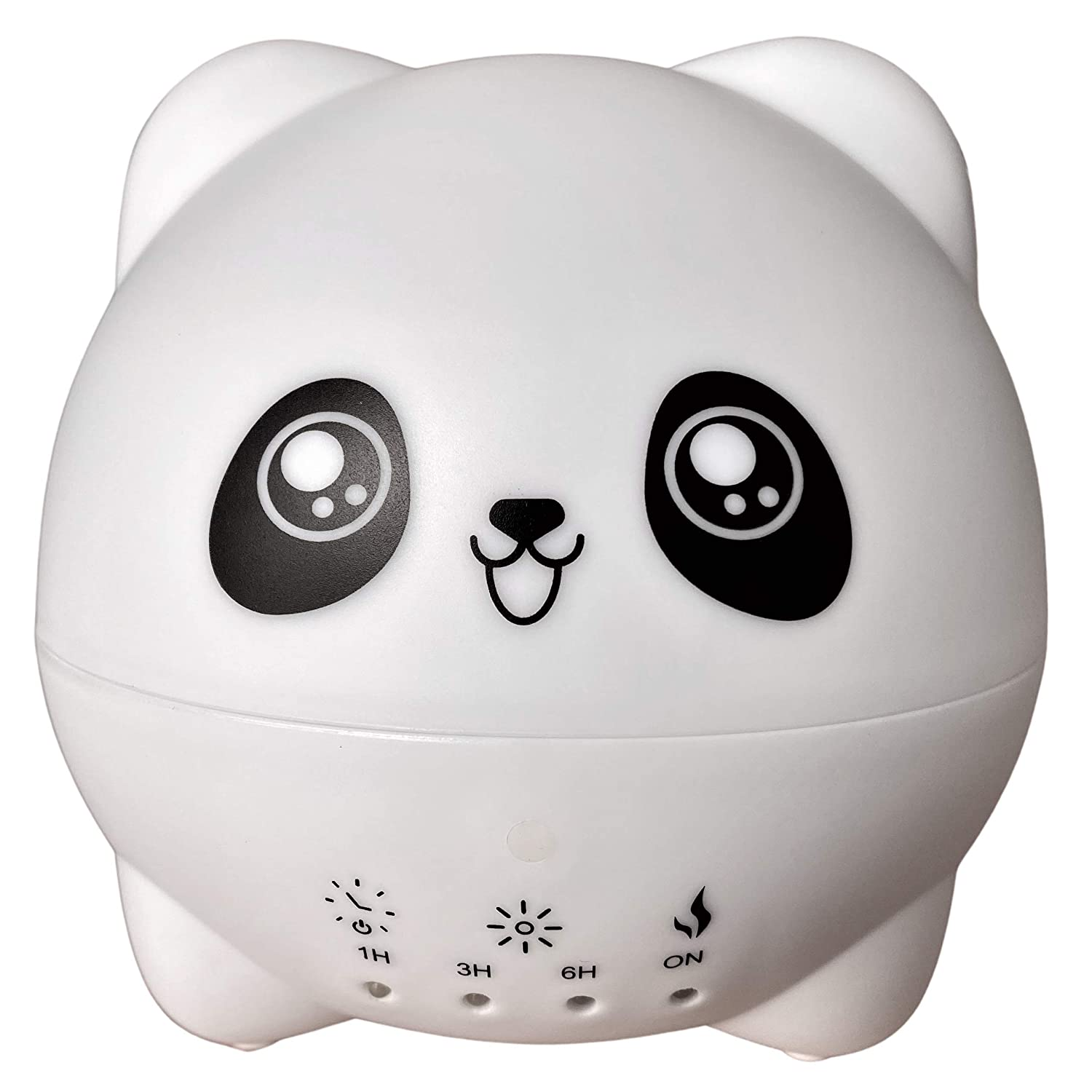 Ultrasonic Aromatherapy Diffuser for Kids-Cute Panda Cool Mist Humidifier for Essential Oils and Night Light-300ml-perfect Diffuser for Child Room and Baby Safe