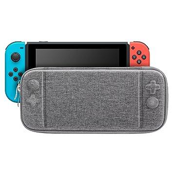 MoKo Funda Portátil Compatible con Nintendo Switch, Estuche ...