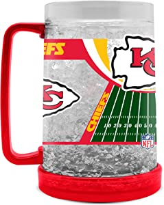 NFL Kansas City Chiefs 16oz Crystal Freezer Mug