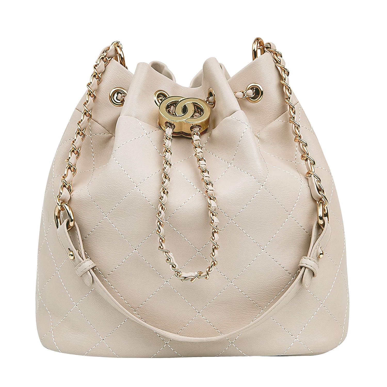 0aec60cf8e8e Drawstring Bucket Bags, Artmis Women Small Cross-body Purses PU Leather