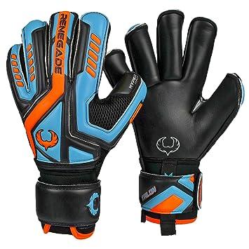 b5907e8cdf24e Renegade GK Talon Goalie Gloves (Sizes 5-11, 4 Cuts, Lvl 2), Pro-Tek  Fingersaves - Versatile Glove for All Ages/Levels, Excellent Protection -  German ...