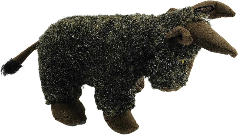 Yak krislin mascotas felpa 16 inch de peluche de toro perro Squeaky Toy: Amazon.es: Productos para mascotas