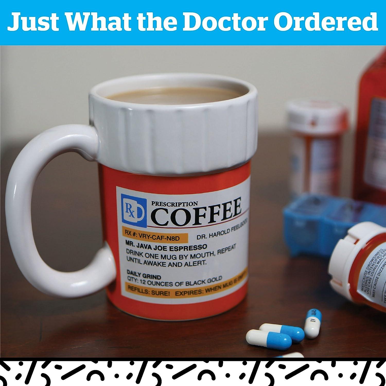 prissy ideas his and her coffee mugs. Amazon com  BigMouth Inc The Prescription Coffee Mug Ceramic Funny Gift for the Caffeine Lover Cups Mugs