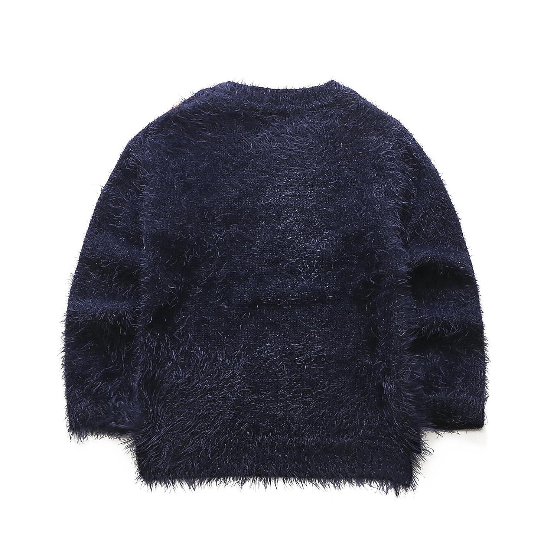 BLUE, 3-4 years UK ELSA /& ANNA/® Top Quality Girls Children Kids Christmas Jumper Girls Xmas Jumpers Sweater BLUJUM12