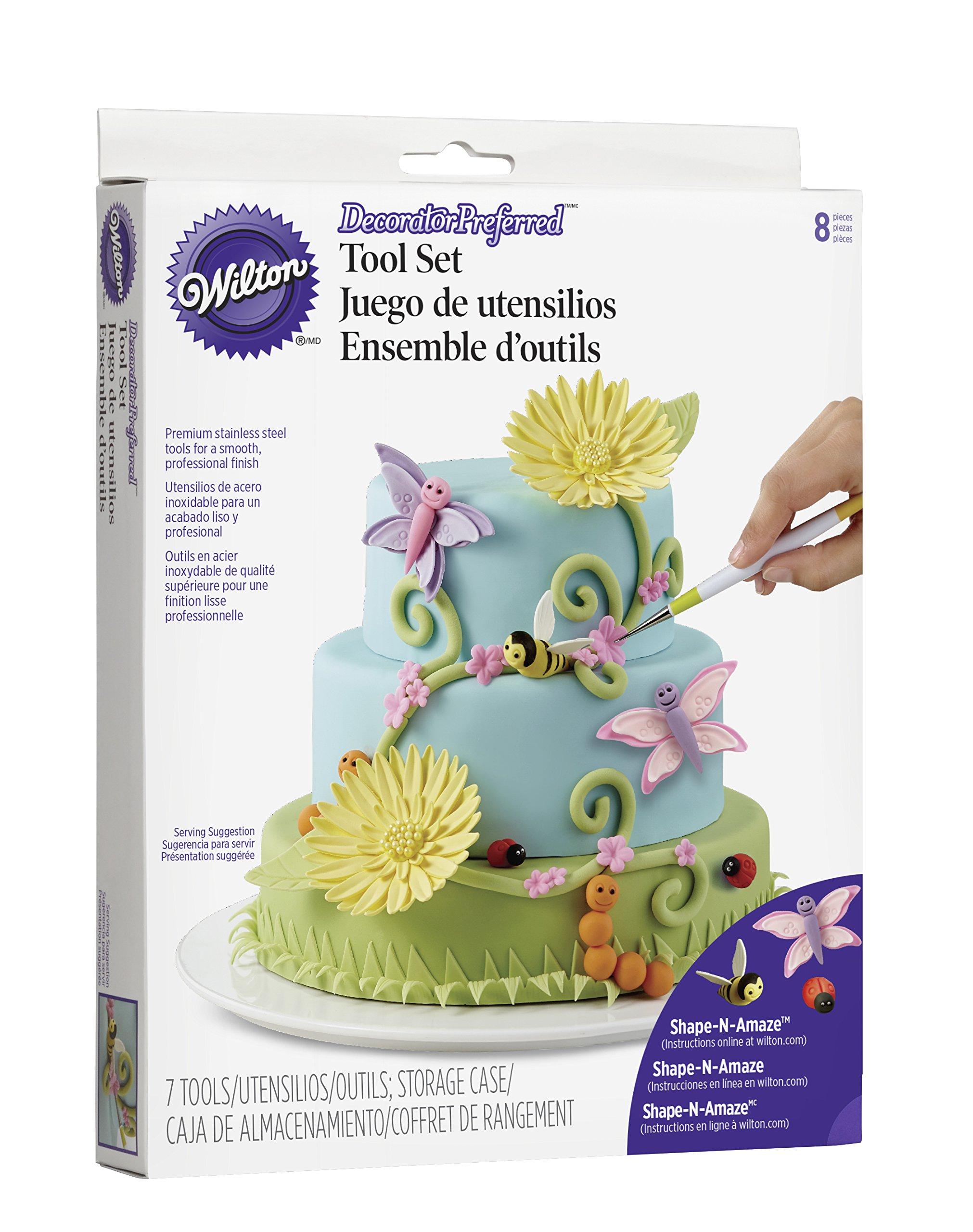 Wilton 3D Figure Modeling Fondant Tool Set, 8-Piece Cake Decorating Tool Set by Wilton (Image #2)