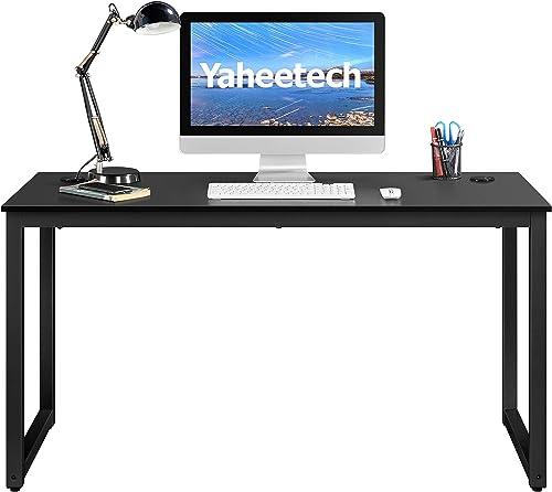 YAHEETECH 55 inch Computer Desk