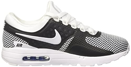 best website 07743 06d69 Nike Men s Air Max Zero Essential Gymnastics Shoes, Black White Obsidian Soar  103, 8.5 UK  Amazon.co.uk  Shoes   Bags