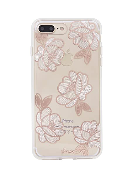 buy online 71ea0 dfe1d iPhone 8 PLUS,7 PLUS, Sonix FLORETTE (CHAMPAGNE) Cell Phone Case - Military  Drop Tested - Sonix Clear Coat Series for Apple iPhone (5.5