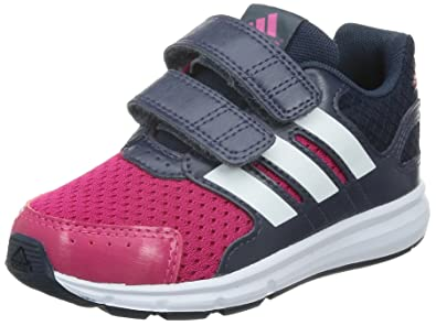 best service 6027d 9b6f1 Infant Boys adidas Lk 6 Trainer In Pink, Pink - bold pinkftwr white