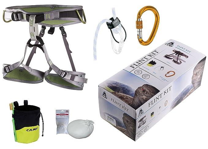 Klettergurt Seil Karabiner : Kletter set camp flint kit klettergurt größe m sicherungsgerät