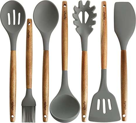 Silicone Non-stick Kitchen Cooking Utensil Spatula Oil Brush Kitchenware