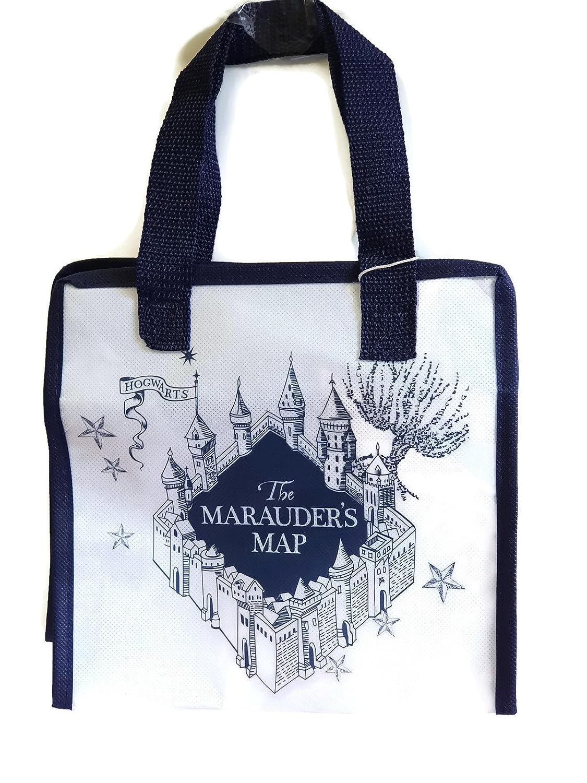 Black Reuseeusable Lunch Box bag, Storage Bag Hogwarts Design HARRY POTTER Primark