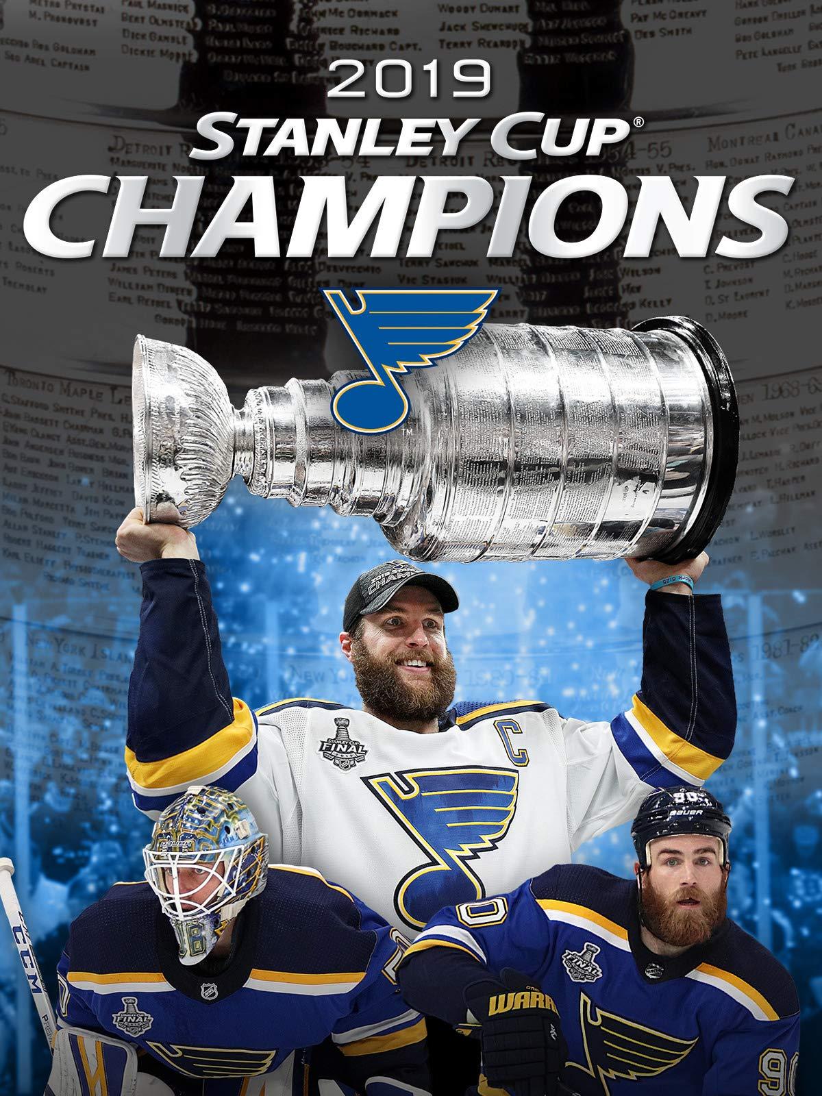 Amazon Com Watch St Louis Blues 2019 Stanley Cup Champions