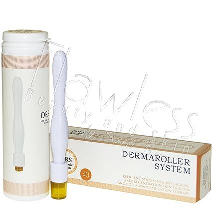 DRS, Derma Stamp, rullo con 40 micro aghi lunghi 1,5 mm per
