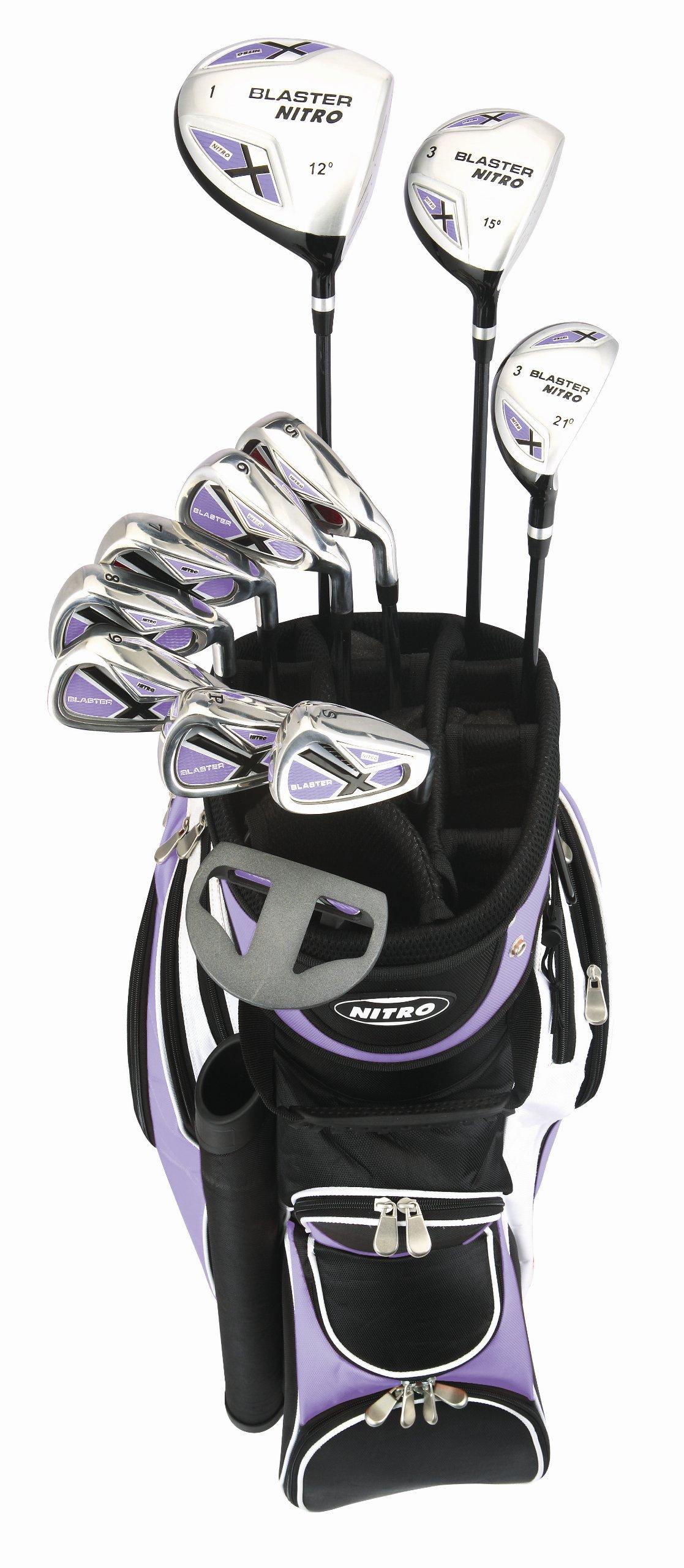 Nitro Women's Blaster Golf Set (15-Piece) by Nitro (Image #1)