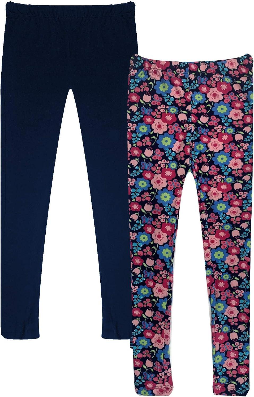 2 Pack Popular Girls Butter Soft Print Leggings