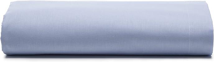 Lençol com Elástico Avulso Casal Santista Linha Prata 150 Fios, Santista, 100% Algodão, Lavanda, 140 cm x 190 cm