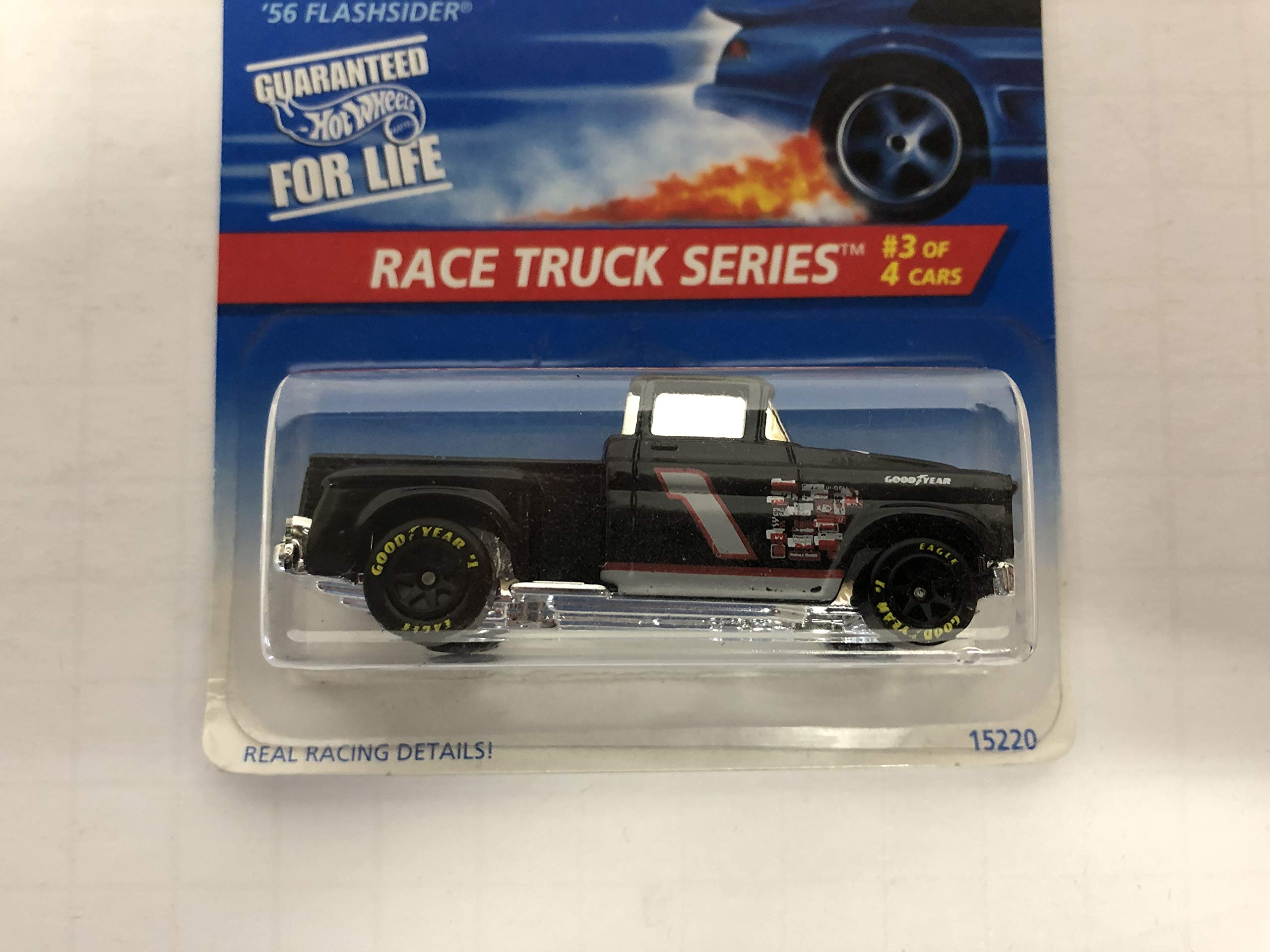 '56 FLASHSIDER Race Truck Series 1996 Hot Wheels No. 15220 diecast 1/64 scale
