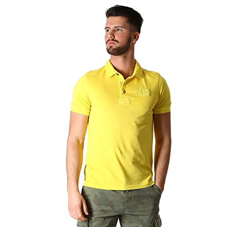Napapijri Polo Eseo Maize Hombre, amarillo, XXL: Amazon.es ...