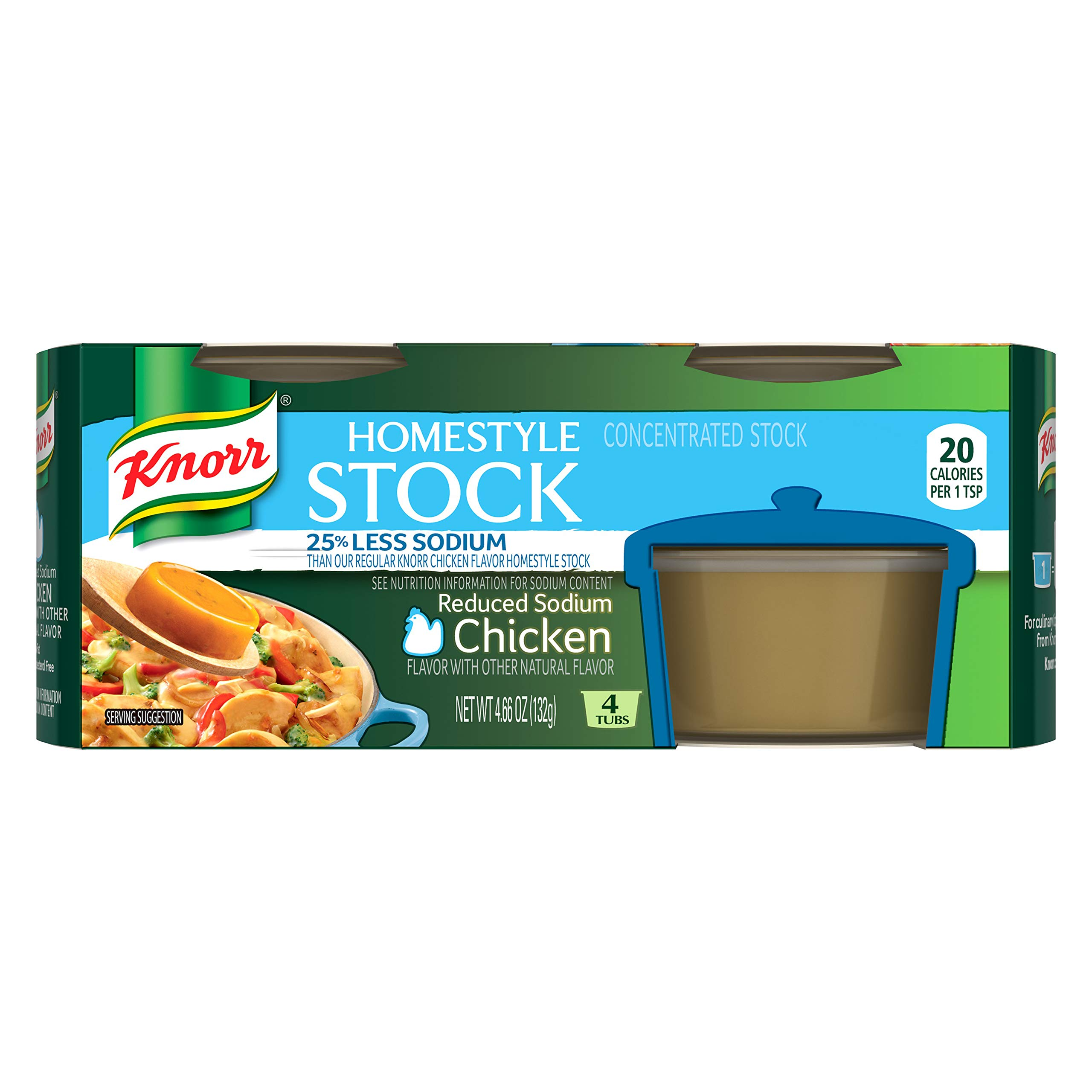 Amazon.com : Knorr Homestyle Stock Concentrated Broth, Beef 4.66 oz ...