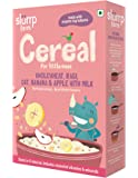 Slurrp Farm Cereal, Wholewheat, Ragi, Oat, Banana and Apple with Milk, 200g