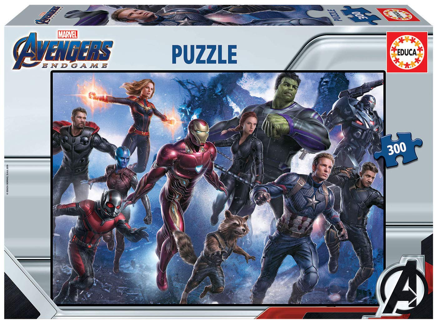 18098 Avengers Endgame Puzzle Educa Borr/ás Color Variado