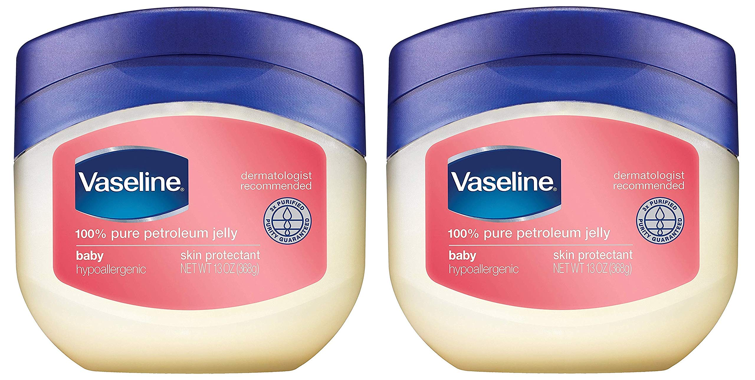 Vaseline 100% Pure Petroleum Jelly, Baby 13 oz (Pack of 3) - Amazon