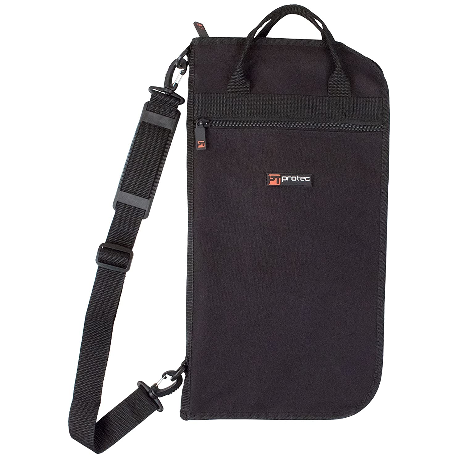 Protec Deluxe Series Drum Stick/Mallet Bag for Up to 20 Pairs of Sticks, Model # C340 Pro Tec