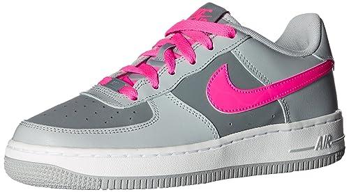 Nike Air Force 1 (GS), Zapatillas de Baloncesto para Niñas, Rosa ...