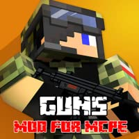 Mods : Marines Guns Mod for MCPE