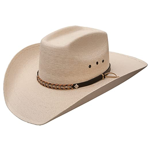 42b74243ed6 Stetson SSSQRE-7940 Square Eyelets Reg Oval Hat at Amazon Men s Clothing  store