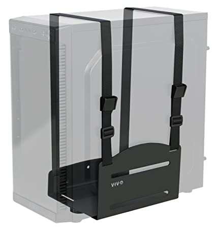 Amazon.com: Vivo negro Universal PC soporte de pared ...