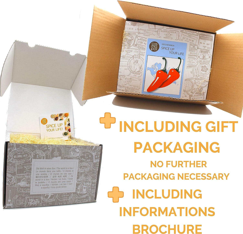 Caja de regalo de comida picante