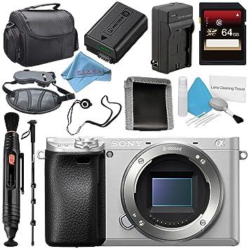 Amazon.com: Sony Alpha A6300 sin espejo Digital cámara ...