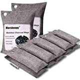 Marsheepy 12 Pack Bamboo Charcoal Air Purifying Bags, Activated Charcoal Odor Absorber, Shoe Deodorizer Bags, Odor…