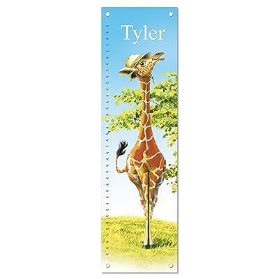 Growth Chart for Kids, Boy or Girl Height Ruler Personalized, Nursery Toddler Bedroom Playroom Decor, Giraffe: Baby [5Bkhe2001351]