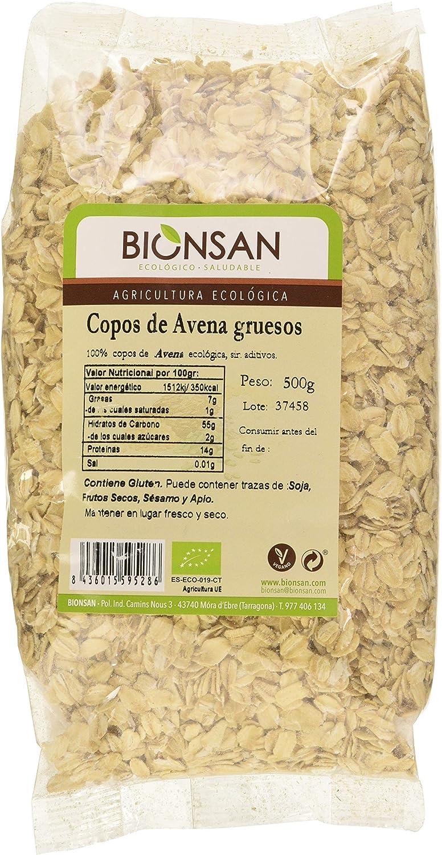 Bionsan Copos de Avena Gruesos - 500 gr: Amazon.es: Alimentación y ...