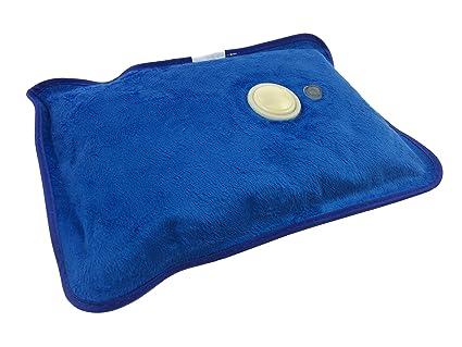 Bolsa de agua caliente eléctrica (azul)